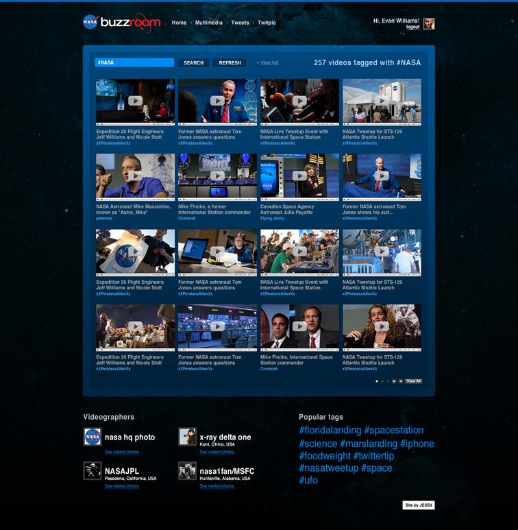 JESS3 - Projects / NASA - Buzzroom