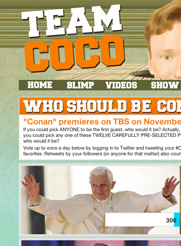 Turner Entertainment Networks Conan O'Brien Leaderboard 483