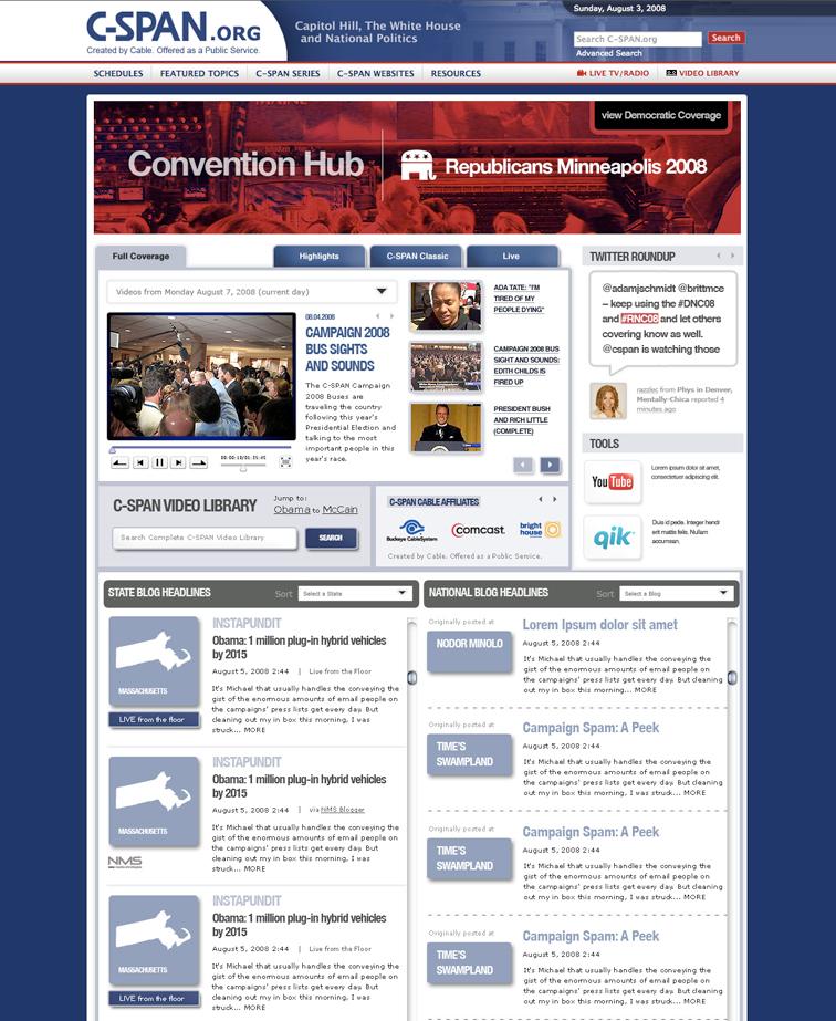 C-SPAN Convention Hub - JESS3