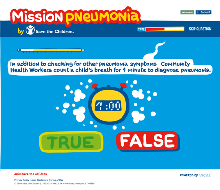 Save the Children Mission Pneumonia 422