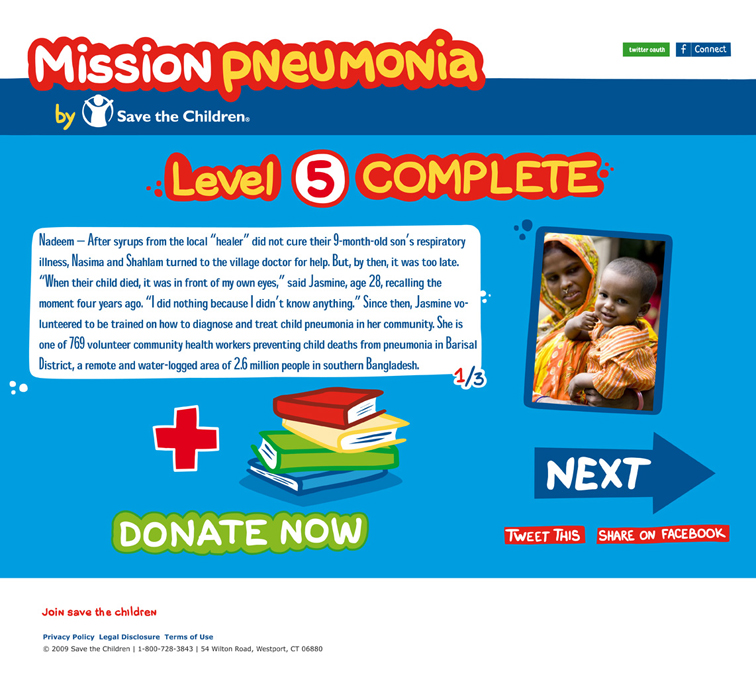 Save the Children Mission Pneumonia 421
