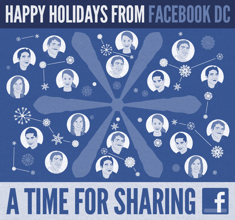 Facebook DC 2011 Holiday Card 2334