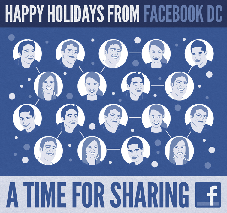 Facebook DC 2011 Holiday Card 2335