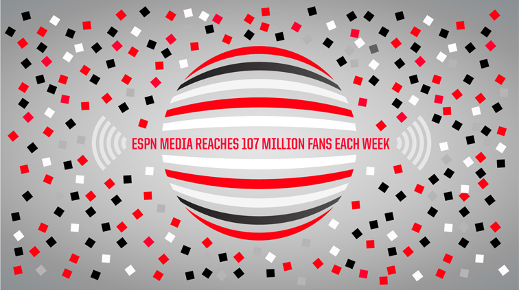 ESPN Visualizing the Reach of ESPN 3315