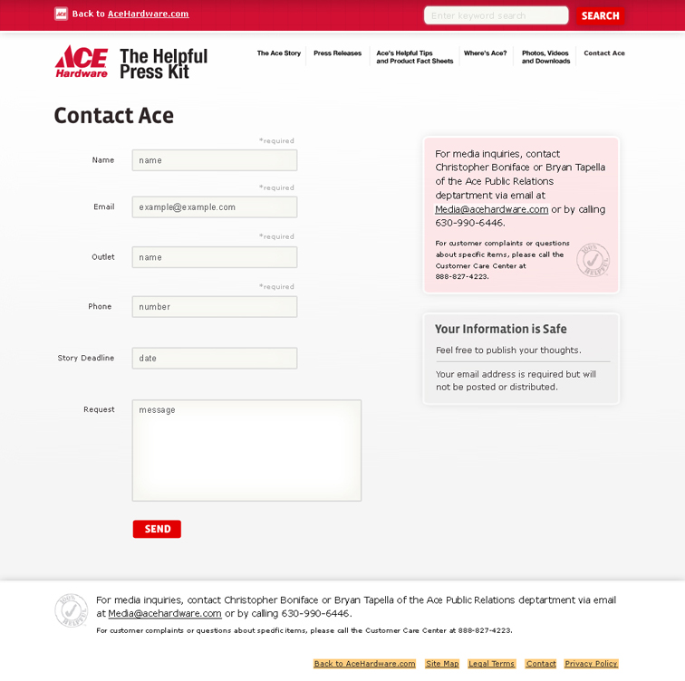 Ace Hardware Digital Press Kit 2462