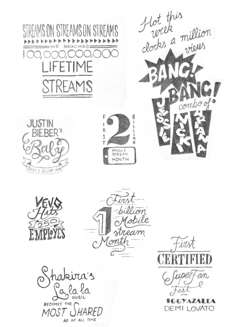 Vevo Fifth Anniversary Infographic 7004