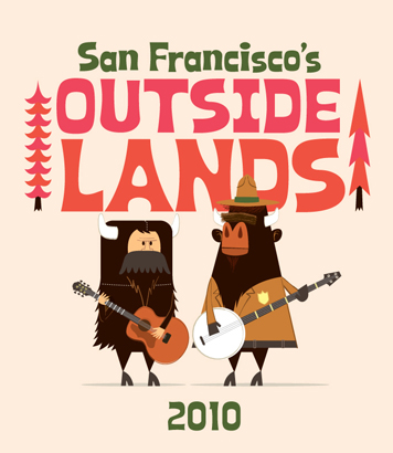 Outside Lands Branding and Illustrations 888
