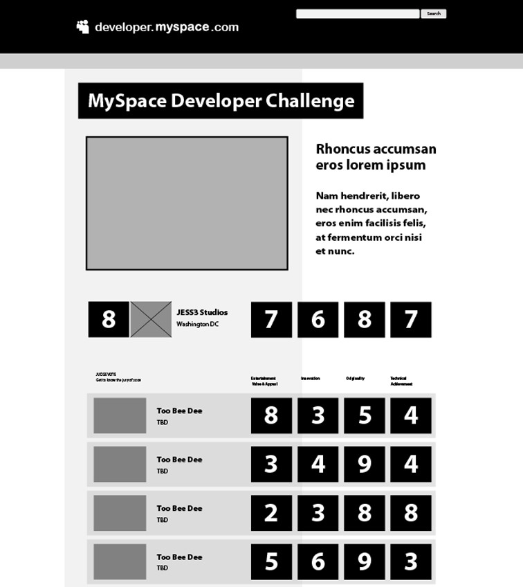 MySpace MySpace Developer Platform 261