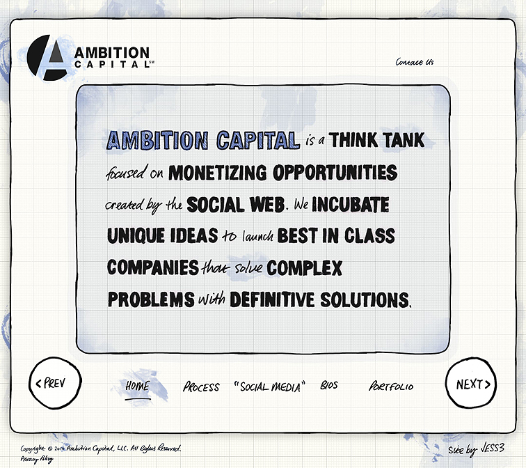 Ambition Capital Website, Branding and Collateral 227