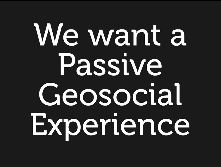 Thoughts on the Future of Geosocial 185