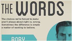 The Words Infographic