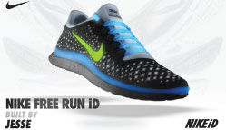 Nike Free Run iD Facebook Tab