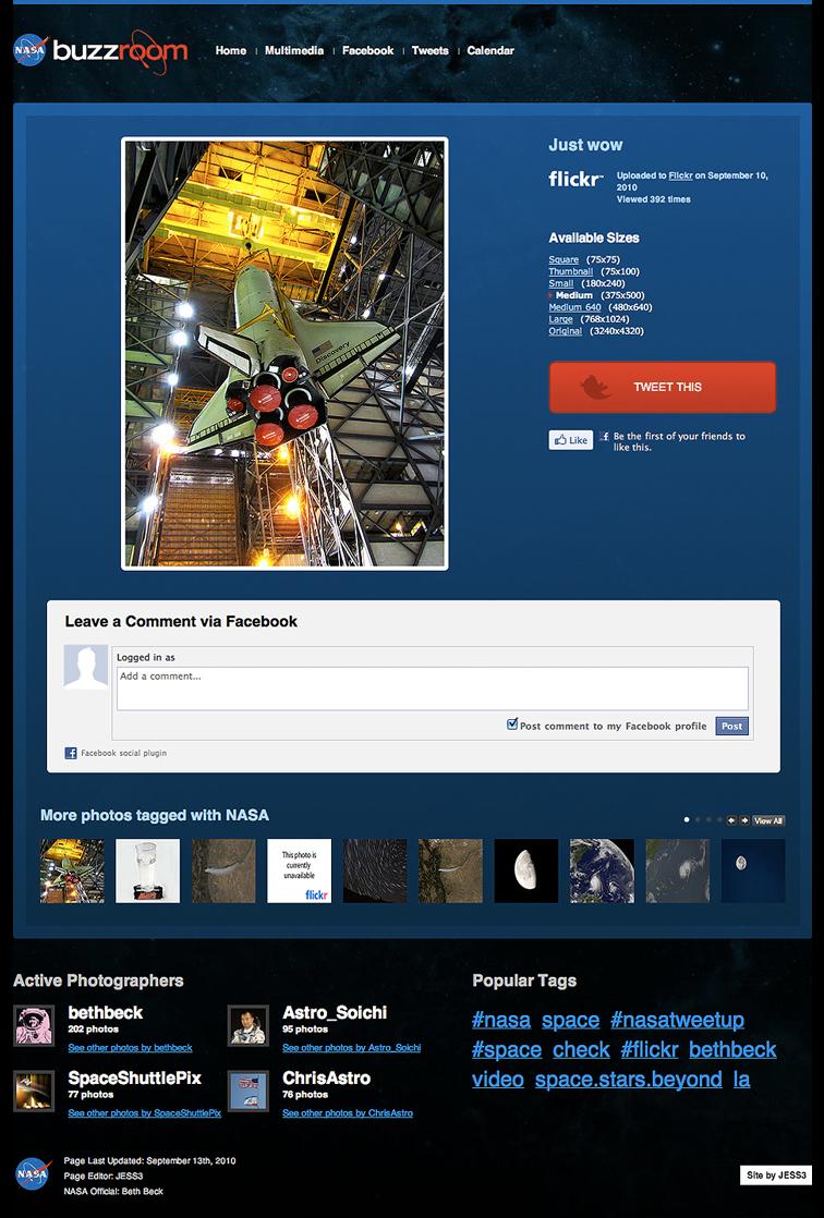 NASA Buzzroom - JESS3